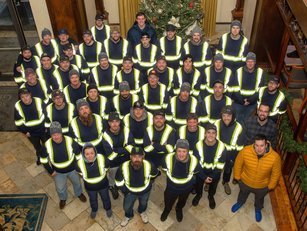Western Roofing Team Photo 2019
