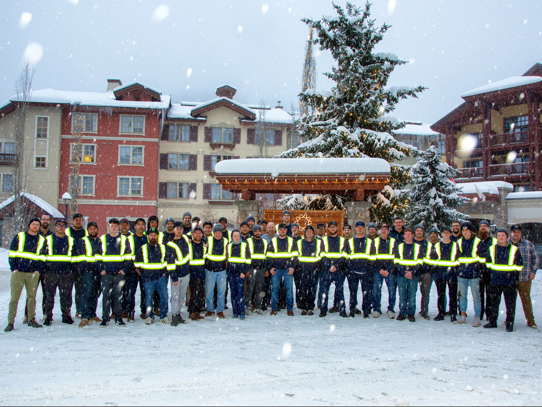 Western Roofing Team Photo